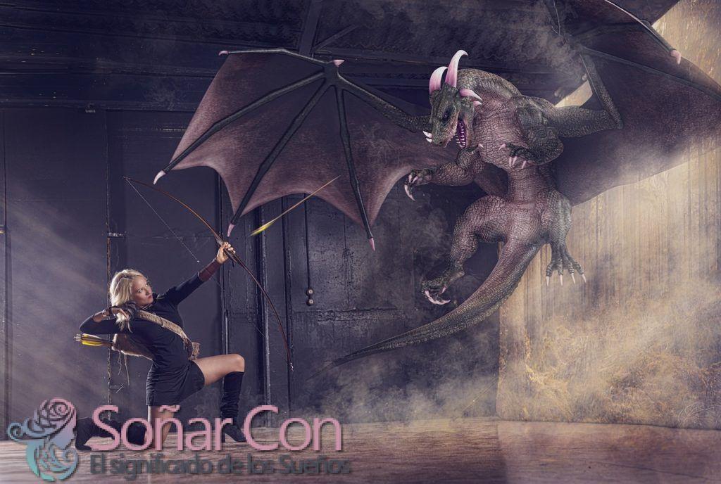 Soñar con dragones - Interpretación y significado