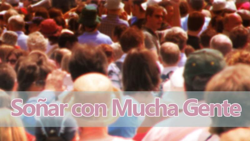 Mucha gente (multitudes)