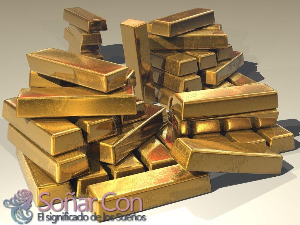 Soñar con el oro y su Significado