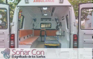 Significado de soñar con la Ambulancia
