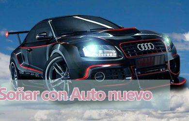 Soñar con auto nuevo