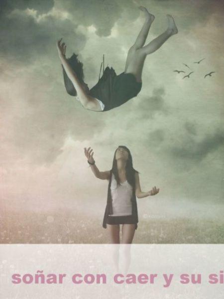 Soñar con caer y su Significado