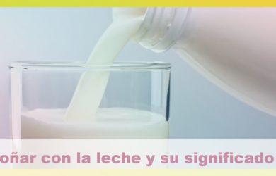 soñar con la leche y su significado